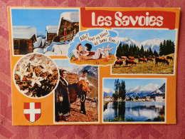 """Dep 73 , Cpm  Les SAVOIES , """"Savoie éternelle"""" , C SE999 004.0023 , Multivues  (07.22.071) - Non Classés"""