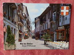 Dep 73 , Cpm  AIX Les BAINS , La Zone Piètonne , S.16254  (07.22.079) - Aix Les Bains