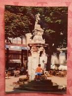 Dep 73 , Cpm  AIX Les BAINS , Fontaine Du Square , Temple De Diane , 10/2258   (07.22.081) - Aix Les Bains