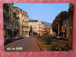 Dep 73 , Cpm  AIX Les BAINS , Avenue Des Thermes , S. 16126  (07.22.083) - Aix Les Bains