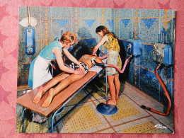 Dep 73 , Cpm  AIX Les BAINS , Douche Massage D'Aix , 3.25.71.1027 (07.22.093) - Aix Les Bains