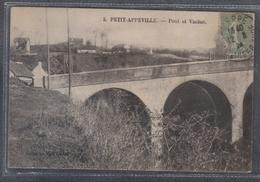 Carte Postale 76. Petit-Appeville  Le Pont Et Viaduc  Très Beau Plan - Autres Communes