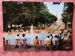 Dep 73 , Cpm  AIX Les BAINS , Parc Des Thermes , Le Bassin , 18 (07.22.107) - Aix Les Bains