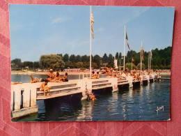 Dep 73 , Cpm  AIX Les BAINS , La Plage Sur Le Lac Du Bourget , EKB.3236 (07.22.111) - Aix Les Bains
