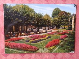 Dep 73 , Cpm  AIX Les BAINS , 2353 , Parc Des Thermes , La Rotonde Et Son Tapis Fleuris  (07.22.123) - Aix Les Bains