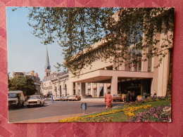 Dep 73 , Cpm  AIX Les BAINS , La Place Des Thermes Et L'Etablissement Thermal , 73/313.S  (07.22.127) - Aix Les Bains