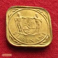Surinam 5 Cents 1962 KM# 12.1 Suriname Surinão - Surinam 1975 - ...