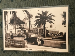 06 Nice Palais Jetee 1936 - Transport Urbain - Auto, Autobus Et Tramway