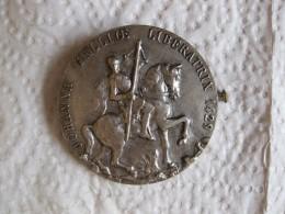 Médaille Broche Jeanne D Arc , Johanna Gallioe Liberberatrix 1429. - France