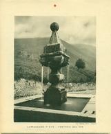 LUMEZZANE - IMMAGINE RITAGLIATA DA CALENDARIO DEGLI ANNI 30  - CM 22 X 25 - Immagine Tagliata