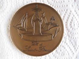 SAINT PIERRE Et MIQUELON Médaille Ville De Saint - Pierre Par DERIBLE - France