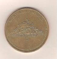 Rare Monnaie De Paris - Le Mont Saint-Michel N°1 Vue Générale CMNHS 1996 Coté 75 € - Monnaie De Paris