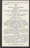 DEV49/ °WIJNEGEM 1824?? +1904  CAROLUS REUSENS SCHEPEN EN KERKMEESTER - Religion & Esotericism