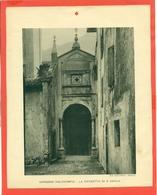 GARDONE VALTROMPIA- IMMAGINE RITAGLIATA DA CALENDARIO DEGLI ANNI 30  - CM  20 X 24 - Immagine Tagliata