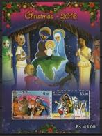 Sri Lanka (2016) - Block -  /   Christmas - Noel - Navidad - Natale - Weihnachten - Art - Paintings - Noël