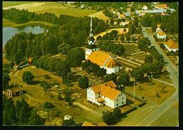 AK Schweden Ingatorp - Kirche Luftbild - Schweden