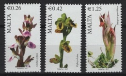 Malta (2017) - Set -  /  Blumen - Flowers - Fleurs - Fiori - Orchidees - Orchids - Orquideas - Orchideeën