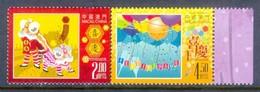K115- Macau China 2015 Celebration Lion Dance. Balloons. - 1999-... Chinese Admnistrative Region