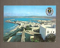TANGER LE PORT LA RADE  MAROCCO CARTOLINA VIAGGIATA 1977 - Tanger
