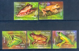 K124- Vietnam Viet Nam 2014. Frog Rhacophorus Owstoni. - Frogs