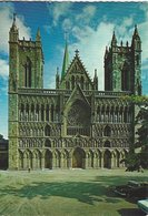 Norway - The Nidaros Cathedral. The West Front   # 07935 - Norway