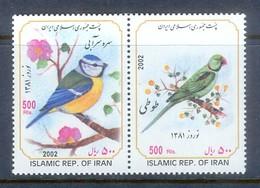 K131- Iran 2002. Luxe. Iranian New Year. - Birds