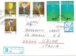 Busta Come Da Scansione ( Primi Giorni Con Prima Emissione Slovena + Jugoslavija ) - Slovenia
