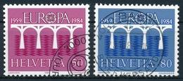 708-709 / 1270-1271 Schweiz, Sauber Gestempelt - Europa-CEPT