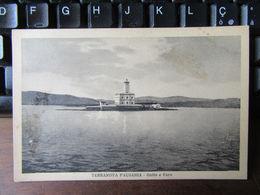 "Cartolina ""Terranova Pausania - Golfo E Faro"" - 1937 - Formato Piccolo - Olbia"