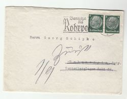 1940 Berlin GERMANY Stamps COVER Slogan - Germany