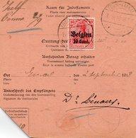 BELGIEN - Besetzungen 1914-18