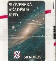 TC-PUCE-SLOVAQUIE-GEM6-50J-02/2003-SLOVENSKA AKADEMIA 50 ANS-NSB-TBE - Slovaquie