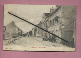 CPA Abîmée - Penchard - Grande Rue -(cachet Au Verso: 260e Territorial - 2eme Bataillon - Altri Comuni
