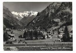 GRESSONEY ST. JEAN - PANORAMA VIAGGIATA FG - Other Cities