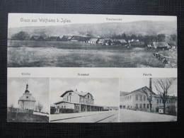 AK WOLFRAMS B. IGLAU Kostelec Jihlava Bahnhof Ca.1910 //  D*33680 - Tschechische Republik