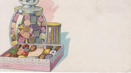 PAPEL SECANTE BLOTTERCAJAS BOXES CARAMELOS GOLOSINAS CANDYS SWEETS C EN H. CIRCA 1900s-TBE- BLEUP - Koek & Snoep
