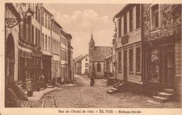 1454-St.Vith Rue De L'Hotel De Ville-Rathaus-Stasse - Saint-Vith - Sankt Vith