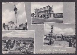 SALUTI DA PORDENONE - VEDUTINE - F/G - V: 1968 - Pordenone