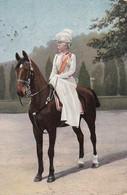AK Kaiserin In Kürassier-Uniform Zu Pferd - Deutscher Kriegerbund - Ca. 1915 (36112) - Königshäuser