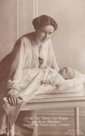AK Gräfin Ina Maria Von Ruppin Mit Ihrem Söhnchen - Gemahlin Des Prinzen Oscar V. Preußen - Ca. 1910 (36113) - Königshäuser