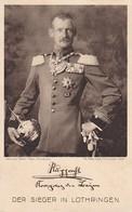 AK Rupprecht - Kronprinz Von Bayern - Der Sieger In Lothringen - Sammlung Für Krankenpflege - Ca. 1915 (36119) - Königshäuser