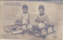 AK Die Beiden ältesten Söhne Unseres Kronprinzenpaares - 1913 (36120) - Königshäuser