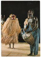 COTE D'IVOIRE - FOLKLORE:LES COMPAGNONS D'AKATI - WAFOU / THEMATIC STAMP - Costa D'Avorio