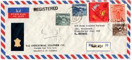 Lettre Recommandée Par Avion De Sialkot, Pakistan (11.11.1971) Pour Troisdorf - Pakistan