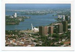 COTE D'IVOIRE - ABIDJAN LA CATHEDRALE - LES TOURS ADMINISTRATIVES - Costa D'Avorio