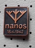 Mountain Nanos  Alpinism Mountaineering Slovenia Pin - Alpinism, Mountaineering