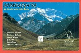 ALPINISMO - SPEDIZIONE ALPINISTICA  ACONCAGUA 98 - ALMENNO SAN SALVATORE - Alpinisme