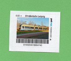 Privatpost - Biberpost - Straßenbahn In Leipzig - Strassenbahnen