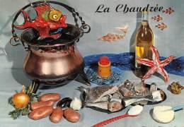 CPM - LA Chaudrée - Recettes (cuisine)