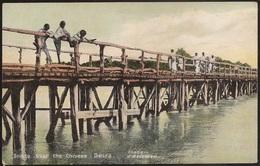 Postal Moçambique - Mozambique - Beira - Ponte Sobre O Chiveve - Bridge Over The Chiveve - Carte Postale - Postcard - Mozambique